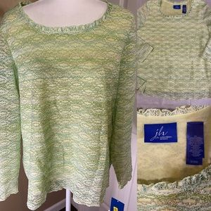 J H Collectables green top size 2x